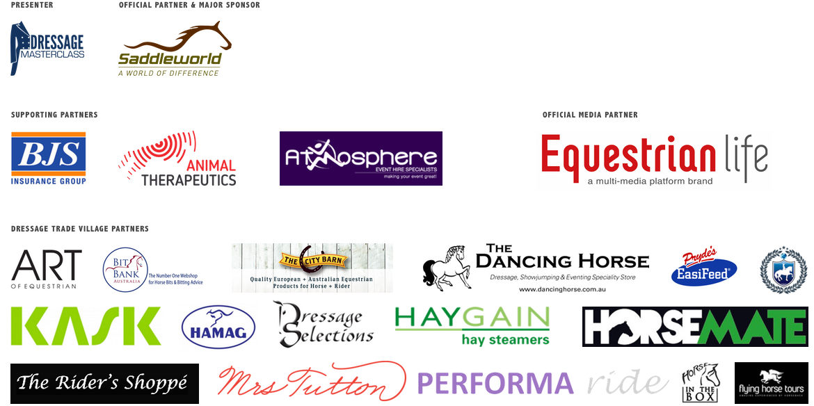 Website Official Partners Banners