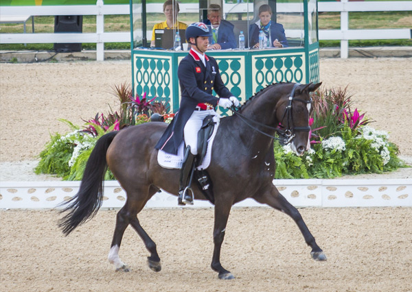 Spencer Wilton will ride at the 2017 Australian Dressage Championships
